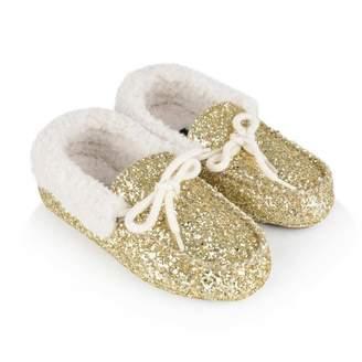 Ralph Lauren Ralph LaurenGirls Gold Glitter Allister Slippers