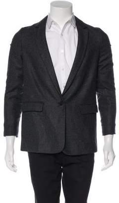 AllSaints Wool One-Button Blazer