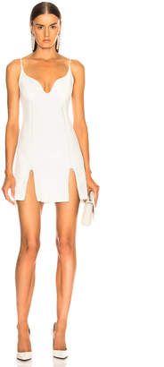 David Koma Crystal Mini Dress