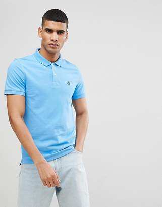 Selected Polo With Badge