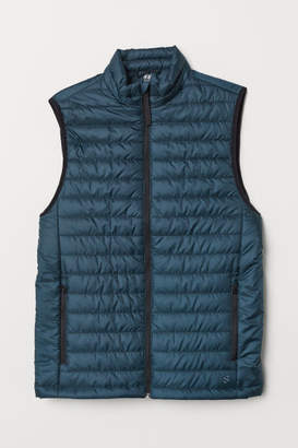 H&M Padded Outdoor Vest - Blue
