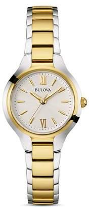 Bulova Classic Two-Tone Watch, 28mm