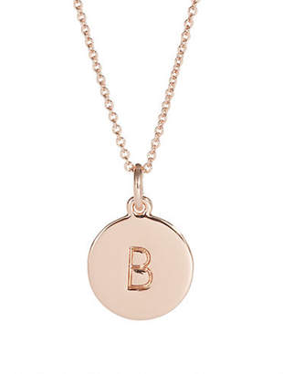 Kate Spade One In A Million B Pendant Necklace