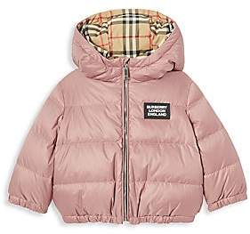 Burberry Baby's & Little Girl's IG6 Rayan Reversible Down Jacket