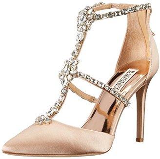 Badgley Mischka Women's Deker dress Sandal $245 thestylecure.com