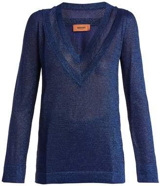Missoni V-neck knit sweater