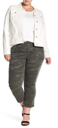 SUPPLIES BY UNION BAY Norma City Shadow Camo Cropped Pants (Plus Size)