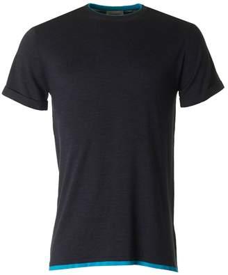 John Smedley Anselm Merino Tipped Crew Neck T-shirt