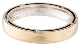 Damiani 18K Diamond D. Side Ring white 18K Diamond D. Side Ring