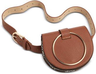 Steve Madden Pebbled Faux Leather Convertible Belt Bag