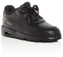 Nike Boys' Air Max 90 Leather Lace Up Sneakers - Walker, Toddler