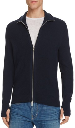 rag & bone Jayden Wool Blend Zip Up Sweater $450 thestylecure.com