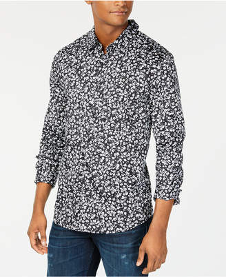 GUESS Men Mini Floral Shirt