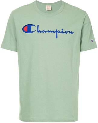 Champion logo embroidered T-shirt