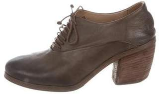 Marsèll Leather Round-Toe Pumps
