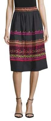 Temperley London Amity Embroidery Skirt
