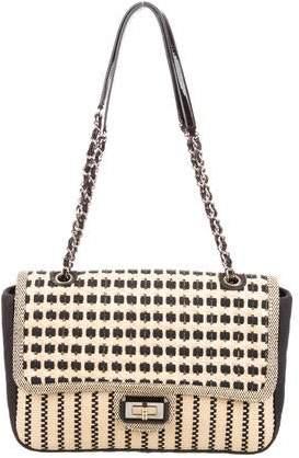 Chanel Jumbo Straw Reissue Flap Bag