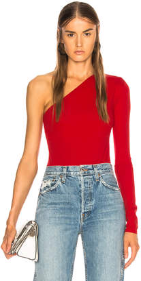 Acne Studios One Shoulder Bodysuit