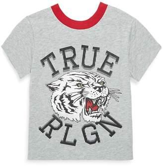 True Religion Little Girl's Tiger Cotton Tee