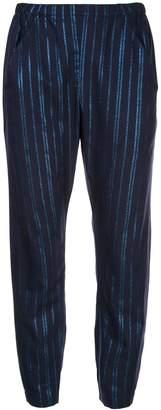 Zero Maria Cornejo two tone trousers
