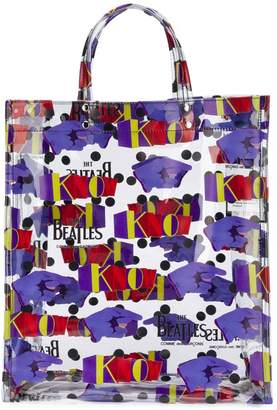 Comme des Garcons The Beatles X printed tote bag