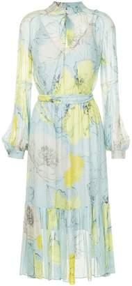 Ginger & Smart floral pleated dress
