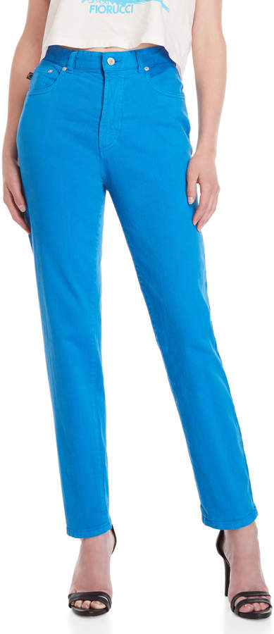 Fiorucci Electric Blue Classic Tapered Jeans