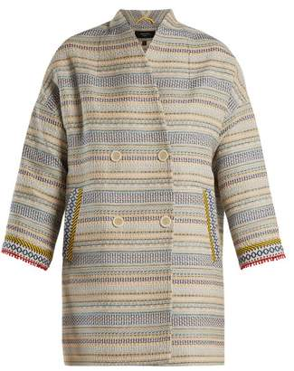 Max Mara Oliveto Coat - Womens - Cream Multi