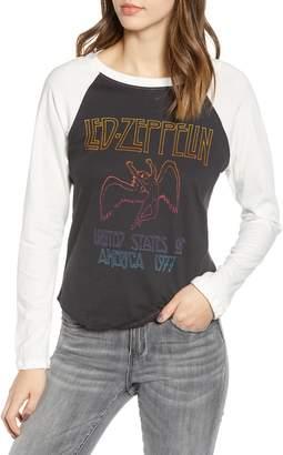 Day by Daydreamer Led Zeppelin Raglan Tee
