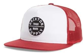 Brixton Oath III Mesh Back Cap