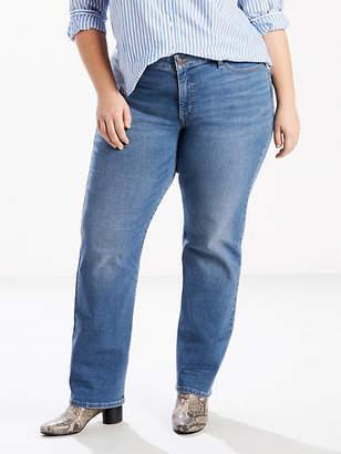 Levi's 414 Classic Straight Jeans (Plus)