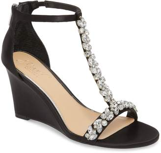 Badgley Mischka Meryl Wedge Sandal