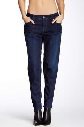 Level 99 Mid Wash Skinny Boyfriend Jeans