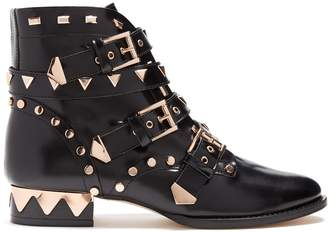 Sophia Webster Riko stud-embellished leather ankle boots