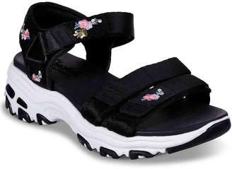 Skechers D'Lites Awesome Blossom Sandal - Women's