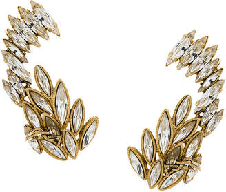 Saint Laurent embellished ear cuffs