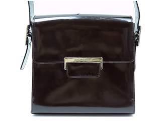 Saint Laurent Burgundy Patent leather Handbag