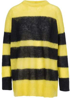 Black And Yellow Striped Sweater Shopstyle Canada