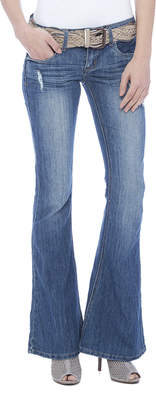 Dollhouse Low Rise Flare Jeans $48 thestylecure.com