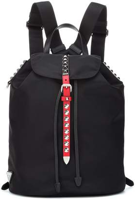 Prada Embellished nylon backpack
