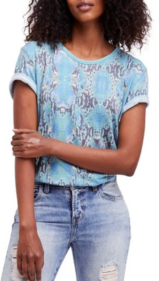 Women's Free People Print Me Perfect Tee $68 thestylecure.com