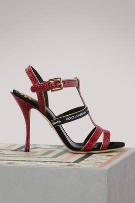 Dolce & Gabbana Keira Ayers sandals