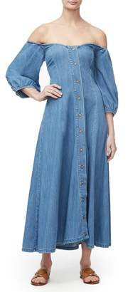 Good American The Pretty In The City Dress - Blue275