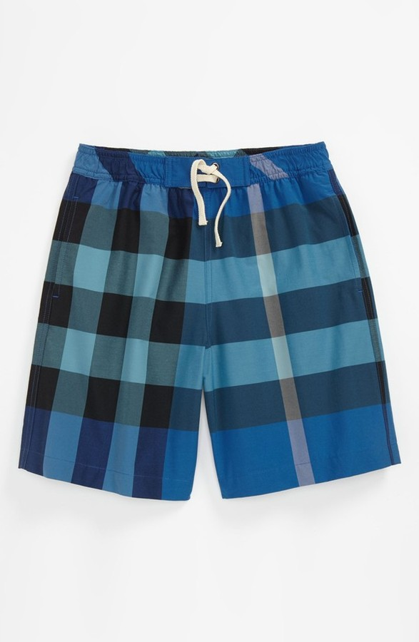 Burberry 'Mini Jeffries' Swim Shorts (Little Boys & Big Boys)