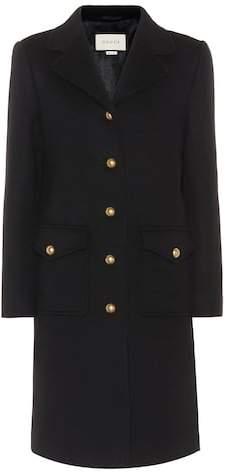 Gucci Double G wool coat