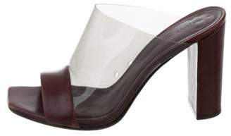Celine PVC Leather Mules