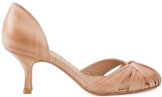 Sarah Chofakian round-toe pumps