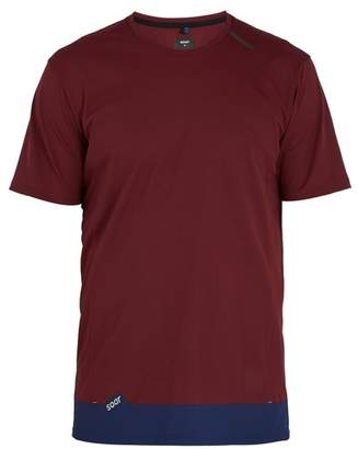 Soar - Crew Neck Running T Shirt - Mens - Burgundy
