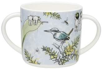 Ecology May Gibbs Wattle Double Handled Mug 180ml Blue