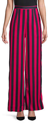 Missguided Striped High-Rise Wide-Leg Pants
